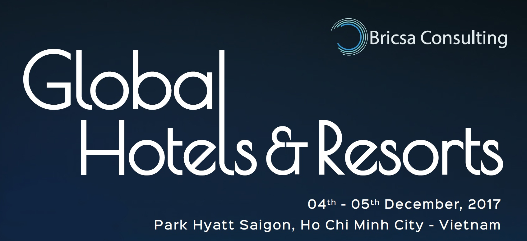 Global Hotels & Resorts Conference 2017