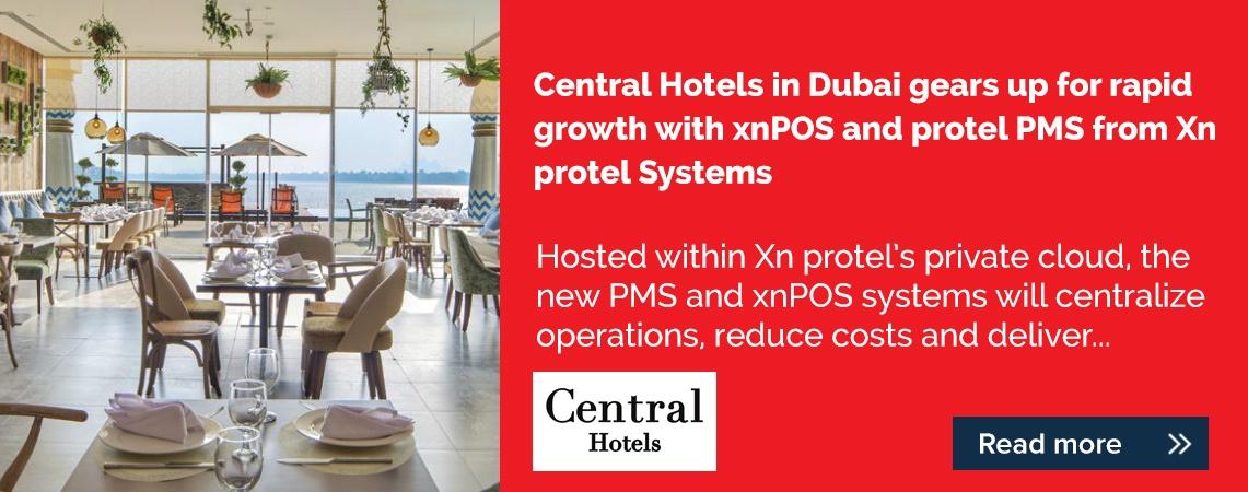 PR banner - Central Hotels