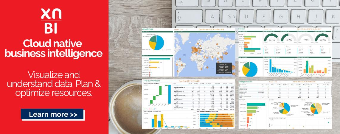 xnBI - Visual reporting, KPI's and metrics